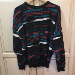 Vintage 90s london fog coogi style sweater